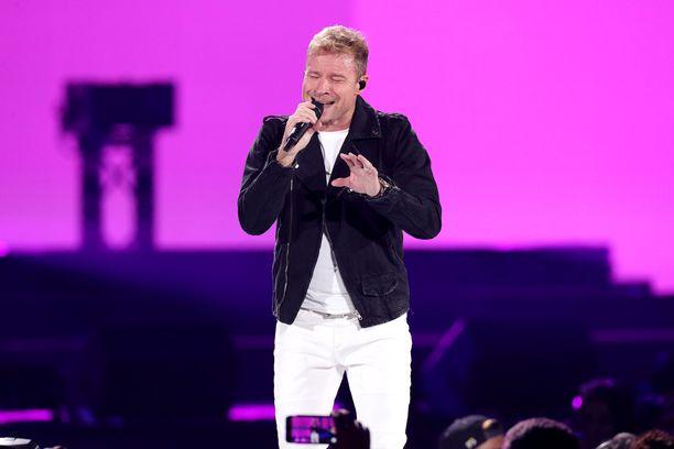 Brian Littrell on ollut mukana Backstreet Boys -yhtyeessä 90-luvusta alkaen.