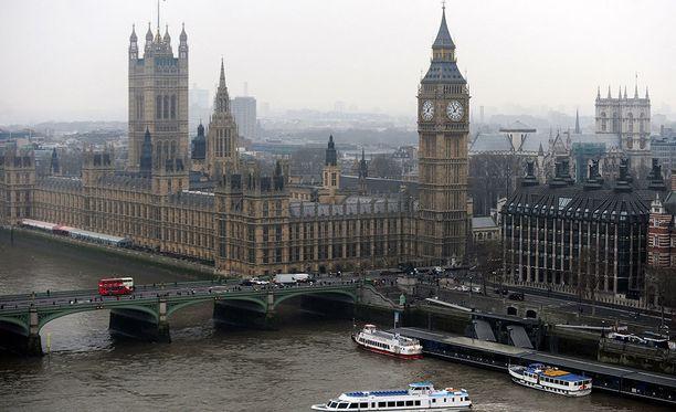 Koululaisryhmä oli Westminsterin sillalla, kun terroristi kaahasi jalkakäytävälle ihmisten päälle.