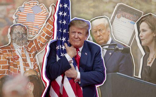 """Takana neljä vuotta Trumpia – miten hän on onnistunut? """"Poikkeuksellinen presidentti"""""""