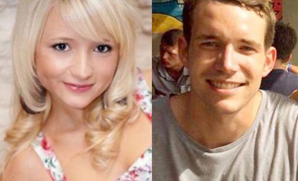 Hannah Witheridge ja David Miller eivät tunteneet toisiaan ennen kohtalokasta iltaa.