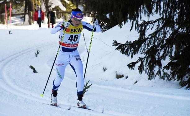 Aino-Kaisa Saarinen oli kahdeksastoista sunnuntaina Tour de Skin toisella etapilla.