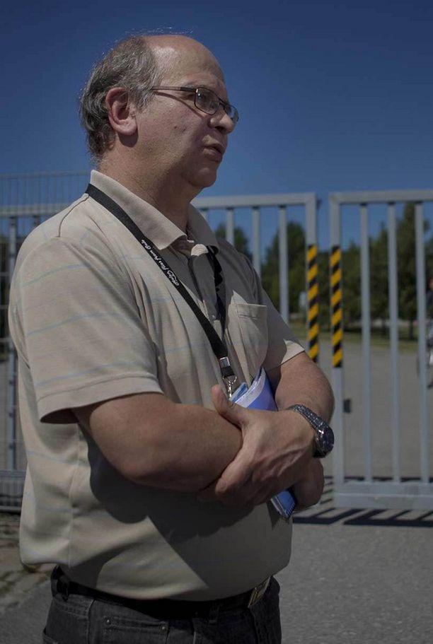 Luottamushenkilö Aimo Leskelä kertoi Salon tehtaan tunnelmien olevan kireät.