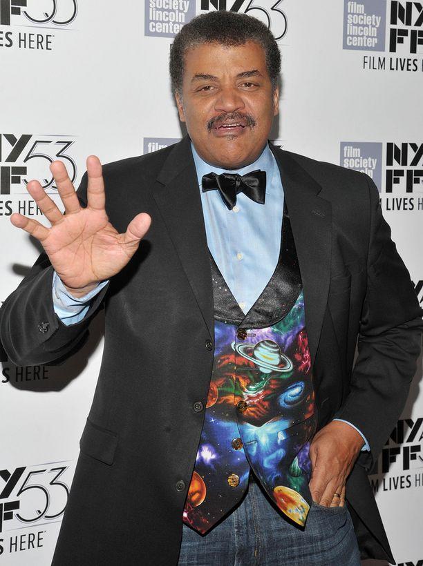 Neil deGrasse Tyson väänsi rautalangasta.