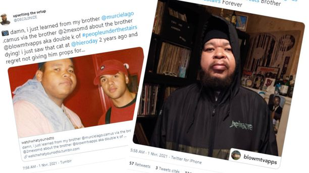People Under the Stairs -yhtyeeseen kuulunut rap-artisti Double K on kuollut.