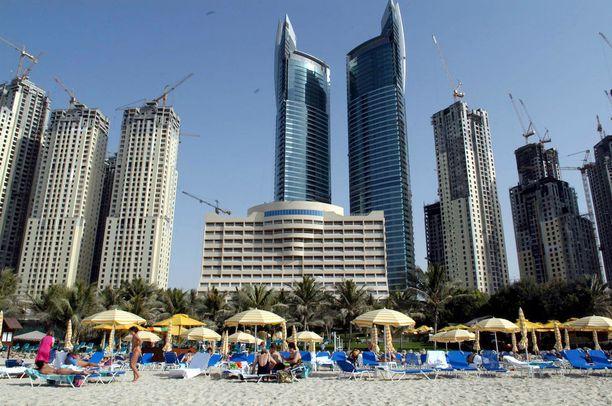 Nämä Dubain tornitalot voivat pian saada seuraa alati muuttuvasta Dynamic Hotelista.