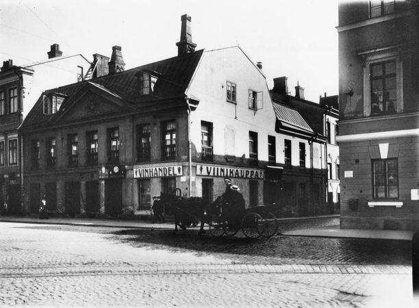 Sederholmin talo on kantakaupungin vanhin kivitalo. Nykyään siellä toimii Helsingin Kaupunginmuseo.