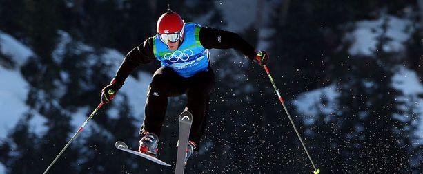 Juha Haukkala oli ensimmäinen suomalainen skicrossari olympialaisissa.