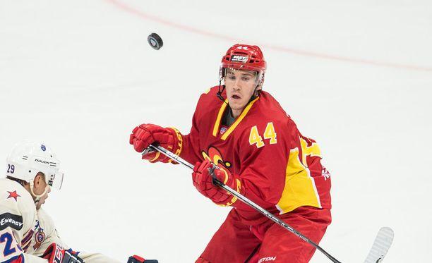Jesper Jensen sai ulosajon ottelussa Dinamoa vastaan. Arkistokuva.