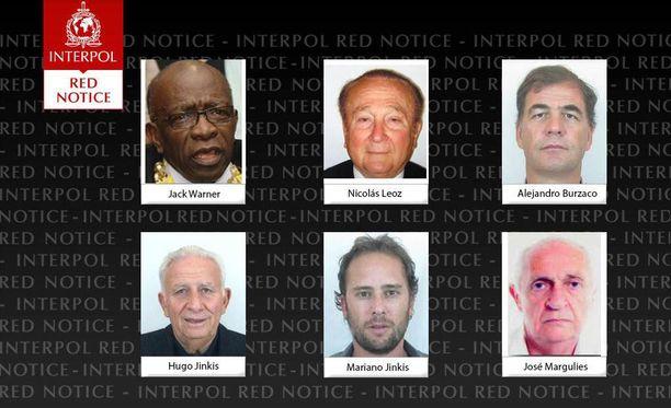 Interpol pani hakuun kuusi futisvaikuttajaa lisää.
