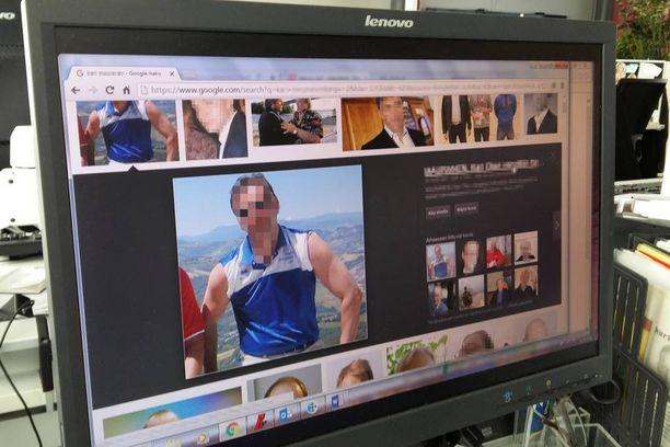 Vangitun lehtorin kuvia on levitetty netissä.