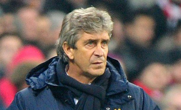 Manuel Pellegrini myönsi laskeneensa väärin Mestarien liigassa tiistaina.