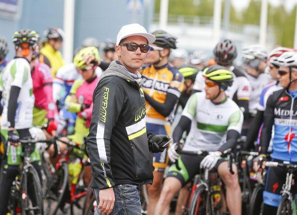 Miku Santavirta on neljättä kertaa järjestetyn Giro dŽEspoon puuhamies.