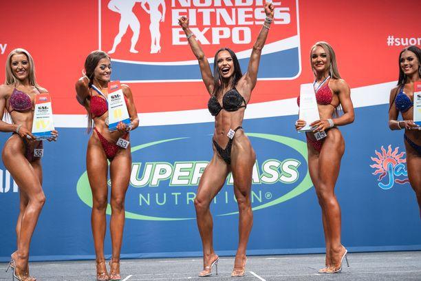 Ilona Siekkinen niitti nuorena menestystä bikini fitness -kisoissa.