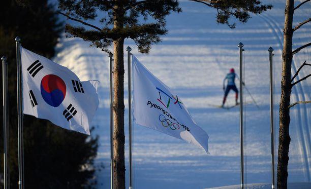 SVT:n tuore dopingdokumentti hiihtäjien veriarvoista näytetään tänään Ruotsissa. Kuva Pyeongchangin kisaladulta.