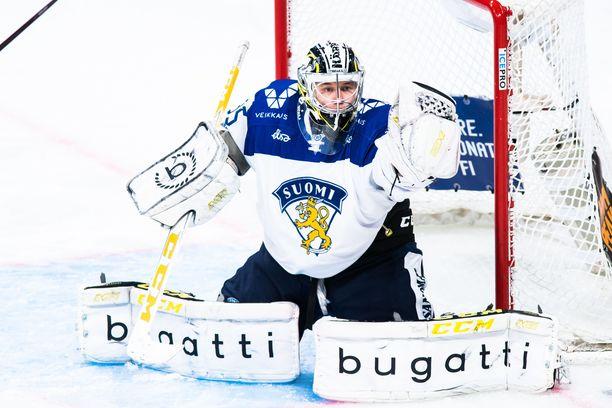 Veini Vehviläinen pelasi EHT-debyytissään kaksi nollapeliä - ei pöllömpi sisääntulo!