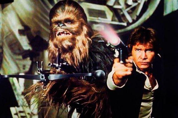 Harrison Fordin esittämä Han Solo sekä tämän aisapari Chewbacca ovat Tähtien Sota -elokuvasarjan rakastetuimpia hahmoja.