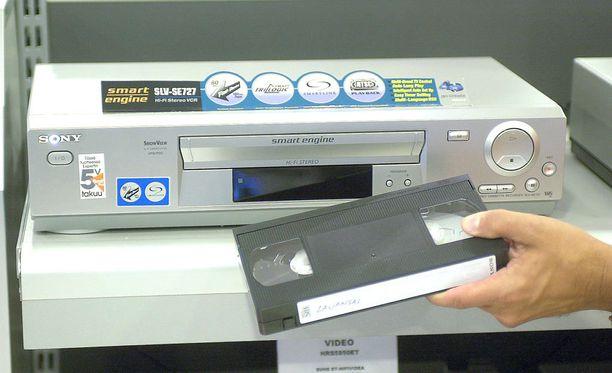 Japanilaisvalmistaja myi videonauhureita vuonna 2015 vielä 750 000 kappaletta.