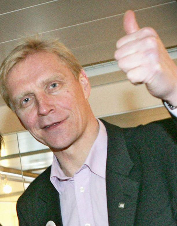 Arto Bryggare voitti euron.