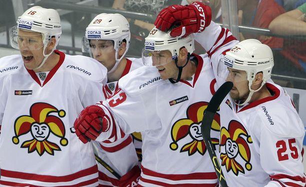 Jokerit kaatoi kauden avausottelussaan Moskovan Spartakin 2-1.