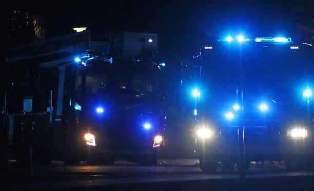 Yksi ihminen kuoli omakotitalon tulipalossa Kangasalla. Kuvituskuva