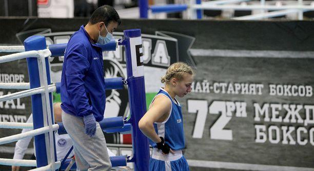 Vilma Viitanen voitti vastikään nuorten EM-hopeaa.