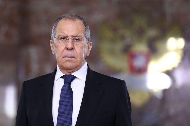 Venäjän ulkoministeri Sergei Lavrov.