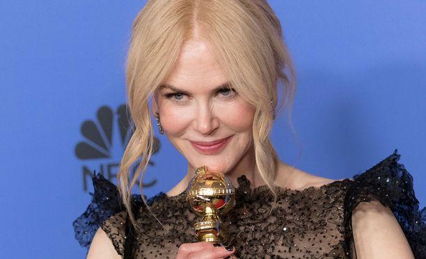 Nicole Kidman voitti parhaan tv-näyttelijän Golden Globe -pystin.