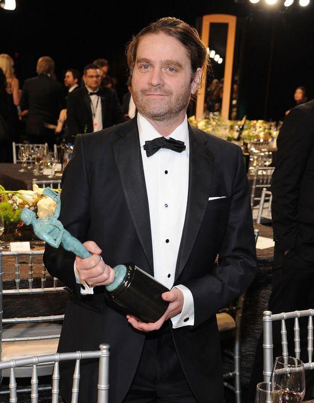 Viime viikonloppuna Zach pokkasi hoikkana poikana pystin SAG-gaalassa elokuvasta Birdman, joka palkittiin parhaasta näyttelijäkaartista.
