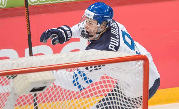 Jesse Puljujärvi ei tyrmää puolustajana pelaamista.