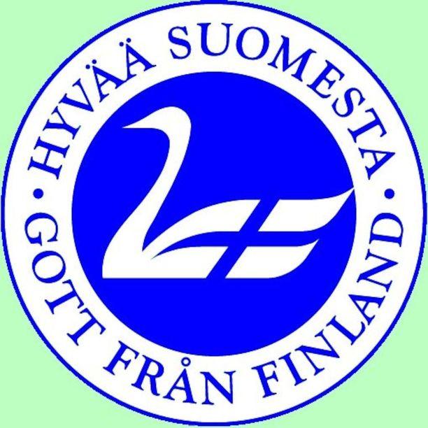Hyvää Suomesta -merkkiä eli niin sanottua Joutsenlippua voi käyttää Suomessa tuotetuissa ja pakatuissa elintarvikkeissa.