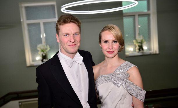 Toni ja Heidi Nieminen saivat ensimmäisen yhteisen lapsensa.