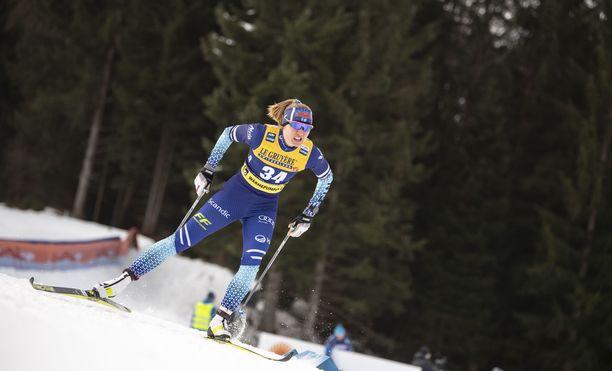 Katri Lylynperä oli keskiviikkona paras suomalaisnaisista.