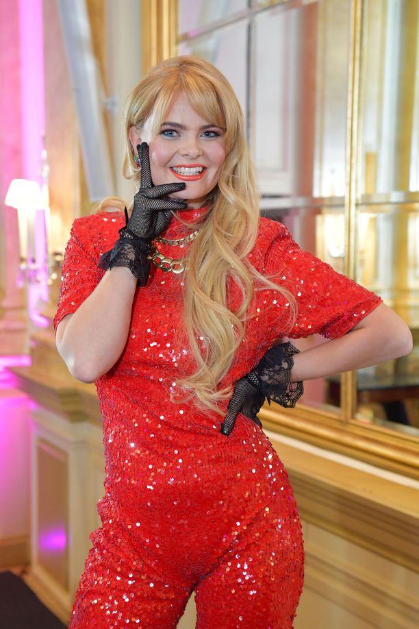 Erika Vikman tavoittelee paikkaa Rotterdamin Euroviisuissa.