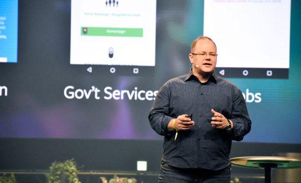 Markku Mäkeläinen pyrkii levittämään internetiä maailman köyhille.