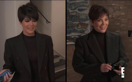 Khloé Kardashian pukeutui Kris Jenneriksi – tunnistatko kumpi on aito?