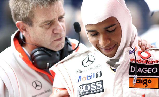 Aki Hintsa työskenteli F1-huippujen taustalla.