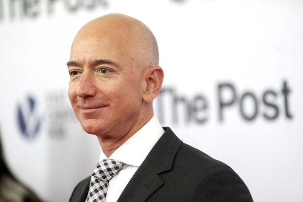 Jeff Bezos on maailman rikkain mies.