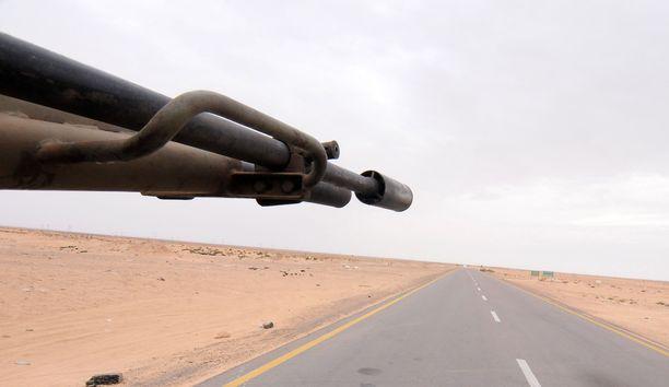Wagnerin palkkasotilaita taisteli Libyassa vuosina 2019-2020. Heitä arvellaan olleen noin tuhat.