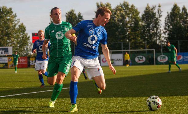 Viime kaudella sinipaitainen Stjarnan pelasi Mestarien liigan karsinnoissa Celticiä vastaan.