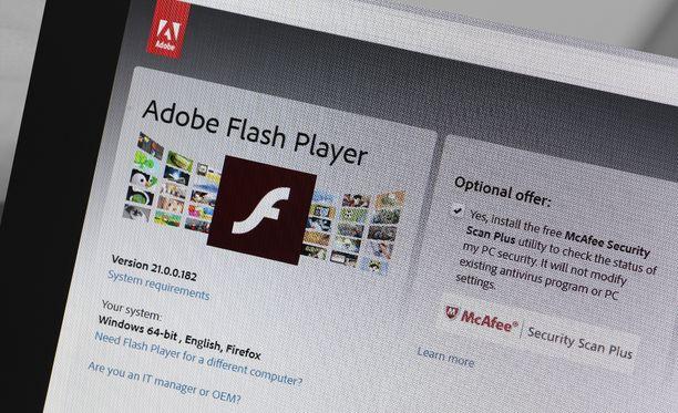 Flash kannattaa poistaa jo ennakkoon.