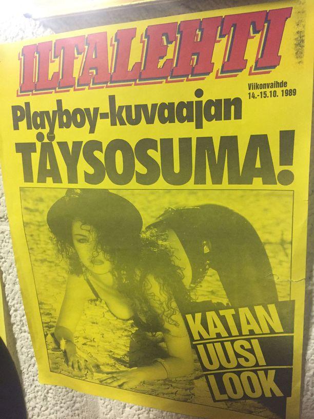 Kata Kärkkäisen Playboy-uran jälkimaininkeja seurattiin ahkerasti.