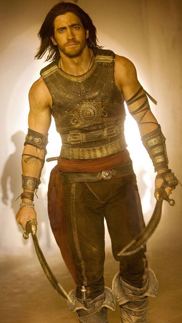Jake Gyllenhaal näyttelee muinaista Persian prinssiä.