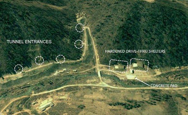 Tutkijoiden mukaan satelliittikuvat paljastavat myös kokonaan uuden ohjusten koeaseman.