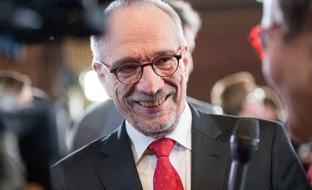 Presidenttiehdokkaana Torvalds profiloitui kärkkäänä Nato-jäsenyyden kannattajana.