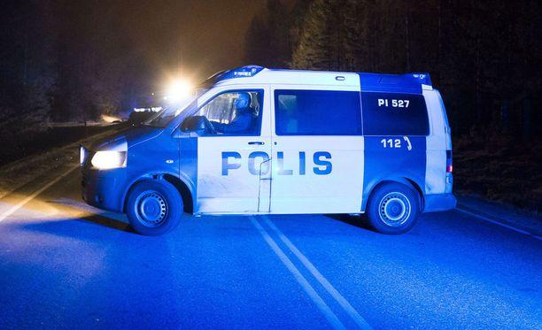 Peräänajo tapahtui Mäntsälässä valtatie neljällä. Kuvituskuva