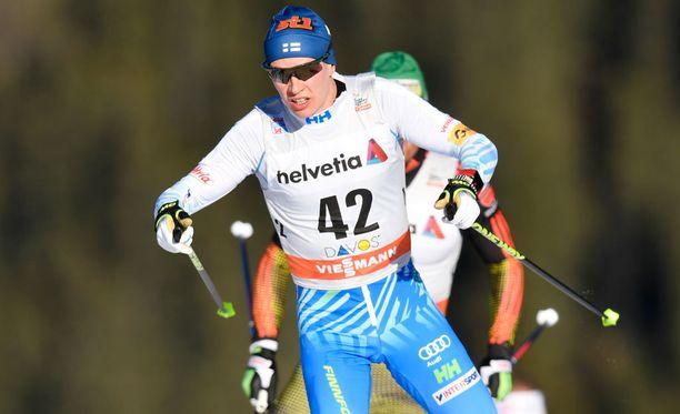 Matti Heikkinen onnistui Toblachissa.