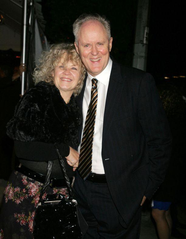 John ja Mary-vaimo lokakuussa 2008.
