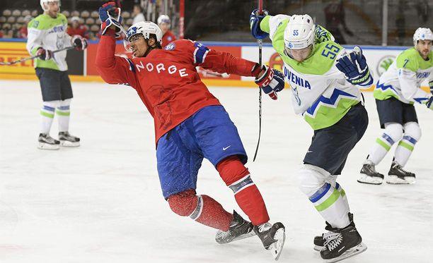 Slovenia on Suomeen verrattuna jääkiekkoilun lilliputtimaa.