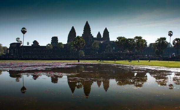 Angkor Wat on Kambodzan ikoninen ja sykähdyttävä nähtävyys.