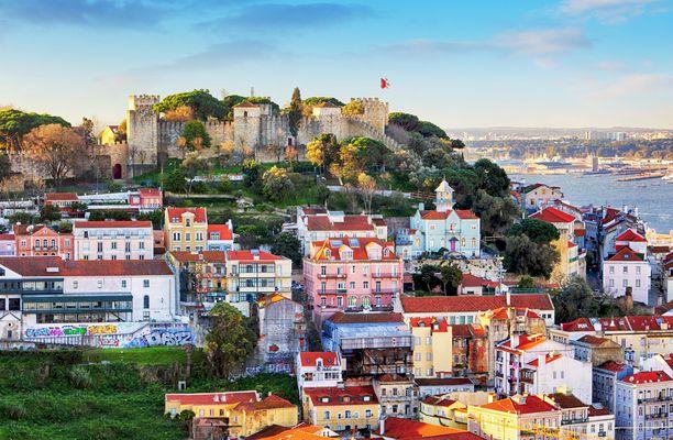 São Jorgen linnasta avautuu upea näköala.